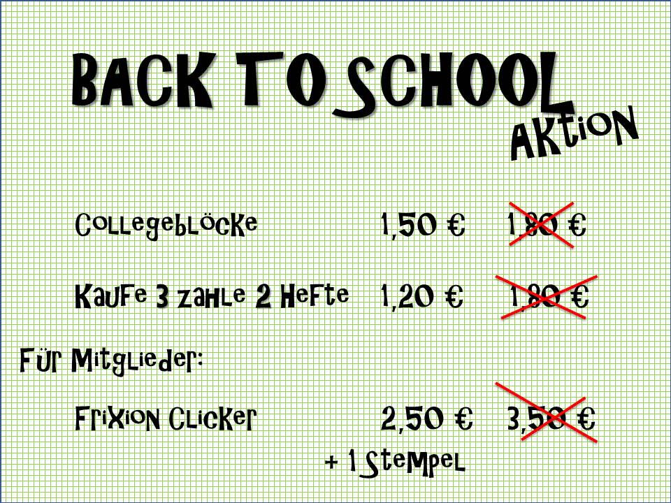 20150721 BACK TO SCHOOL Aktion